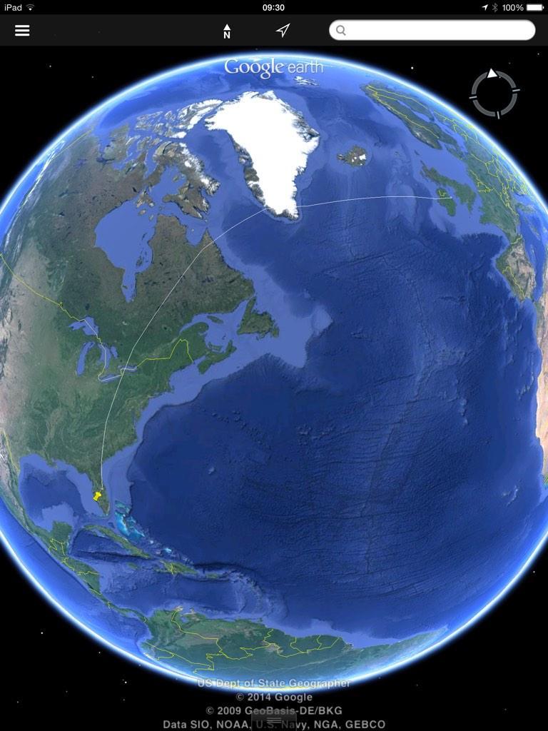 atlantische oceaan bewolking